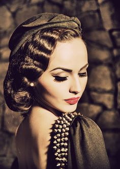 15 Glamorous Vintage Makeup Ideas Pretty Designs