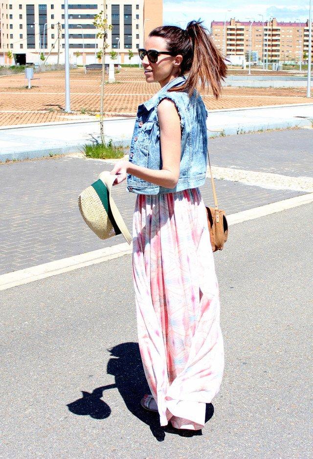14 Fashionable Outfit Ideas With Denim Vest Pretty Designs