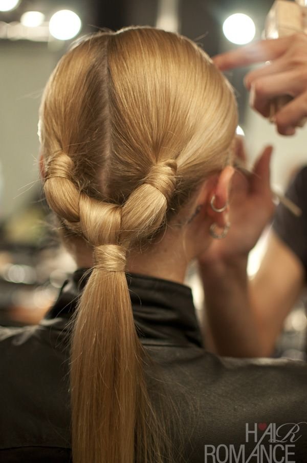 12 Beautiful Knotted Ponytail Hairstyles Pretty Designs