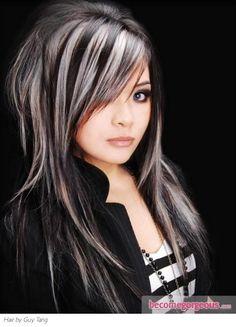 14 wonderful brunette hairstyles with blonde highlights pretty designs