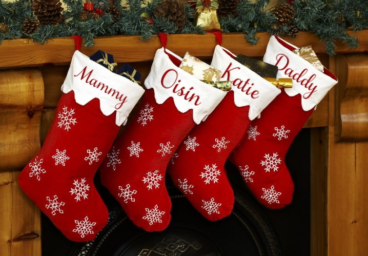 Decorating Ideas Christmas Stocking Designs Pretty Designs