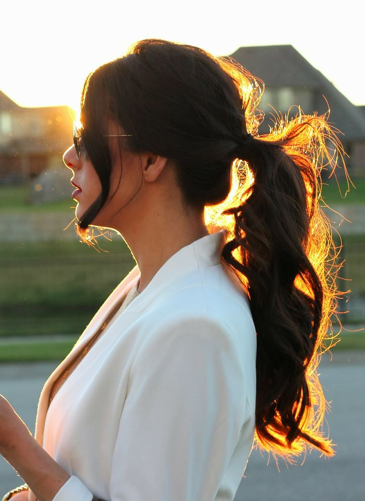 13 Stunning Ponytail Hairstyles For Curly Hair Pretty