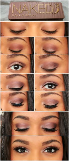 Light Purple Smoky Eyes