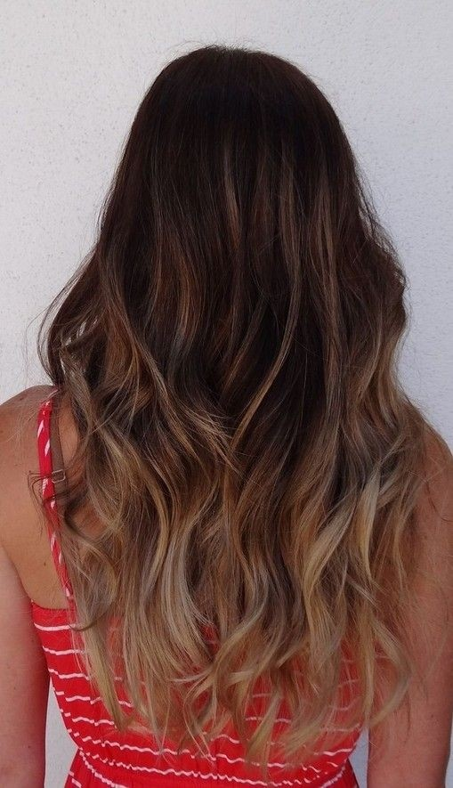 Ombre Hairstyle for Thick Hair