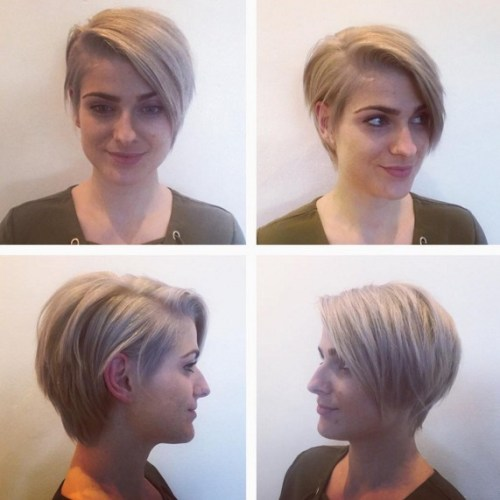 18 Beautiful Short Hairstyles For Round Faces 2019 Flawlessend