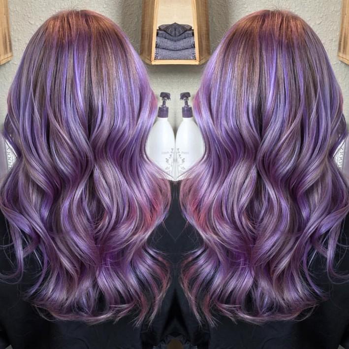 Colour Dip Dye Light Brown Hair
