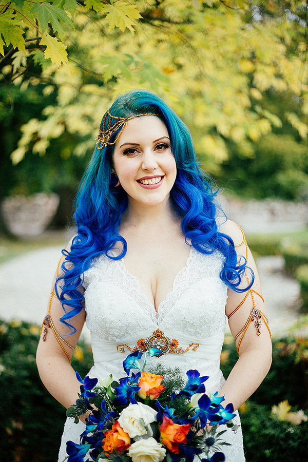 21 Bold Wedding Hairstyles To Try 2017 Pretty Designs