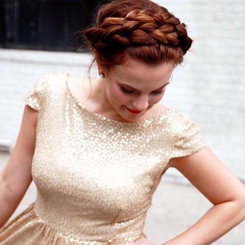 20 Best Milkmaid Hairstyles Pretty Milkmaid Braid For