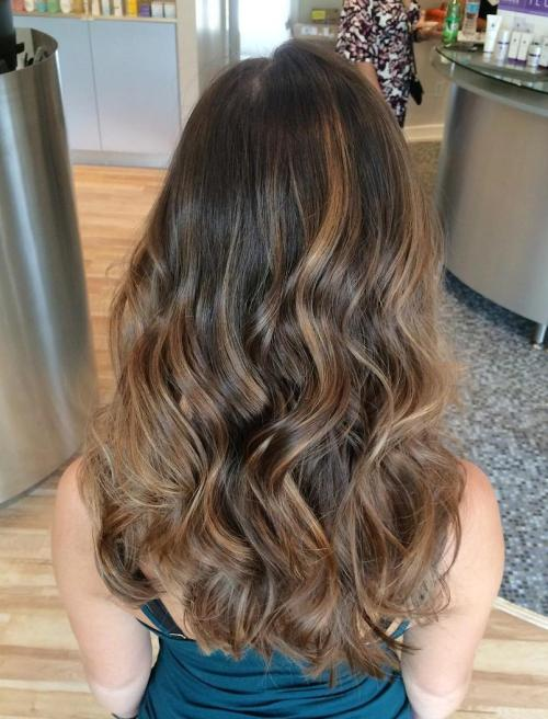 45 Balayage Hair Color Ideas 2019 Blonde Brown Caramel