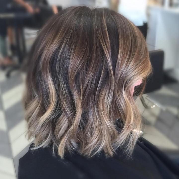 Dark Ash Blonde Balayage Short Hair Wajihair Co