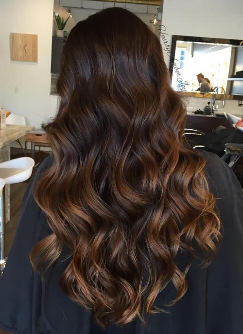 45 Balayage Hairstyles 2018 Balayage Hair Color Ideas