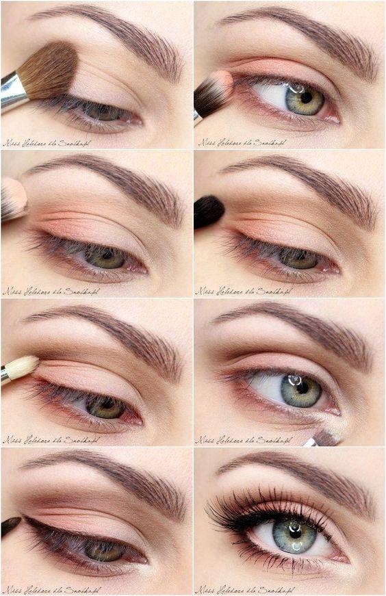 15 Easy Step by Step Bridal Eye Makeup Tutorials - Pretty