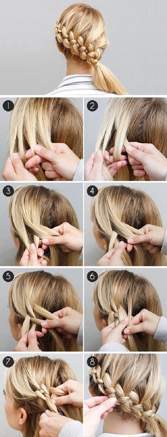 15 easy step by step hairstyle tutorials | beattractive