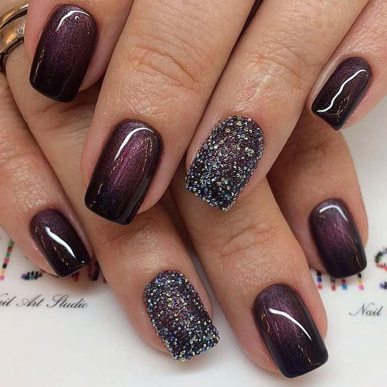 Year Eve Nail Art Design Ideas 2017 With Images Creative
