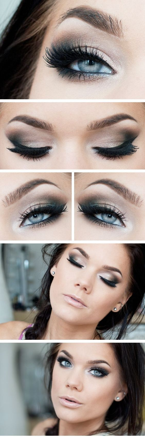 10 awesome eye makeup looks for blue eyes - pretty designs