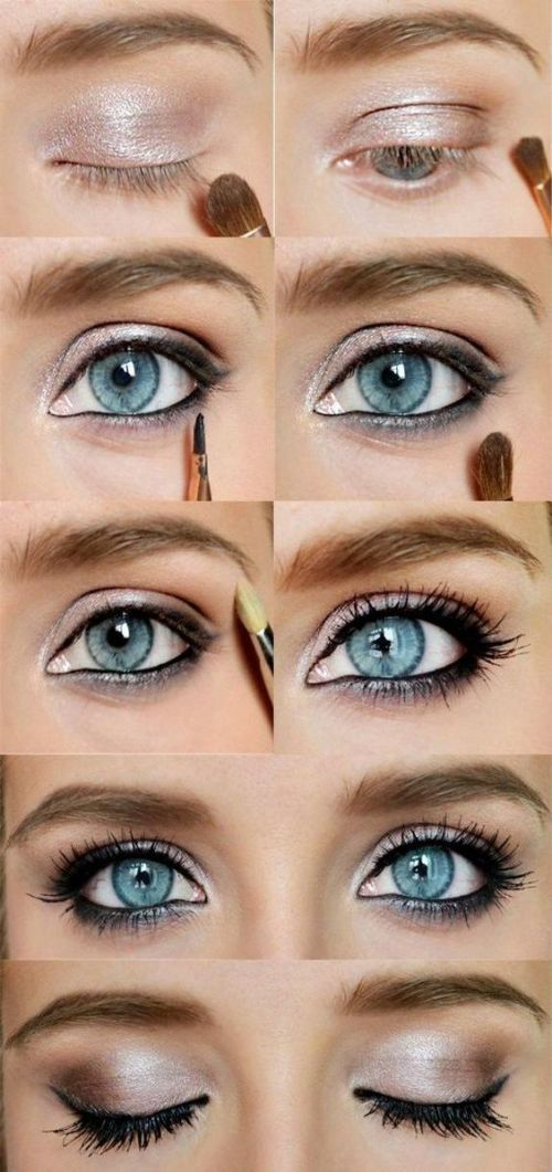 How To Rock Makeup For Blue Eyes Easy Makeup Tutorials Ideas