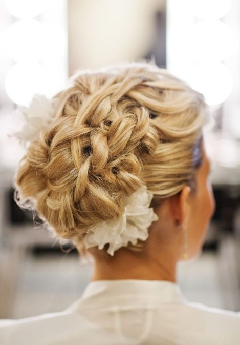 20 Glamorous Wedding  Updos  for Brides crazyforus