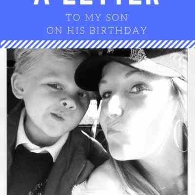 A Letter To My Son On His Birthday: Six Is A Serious Number