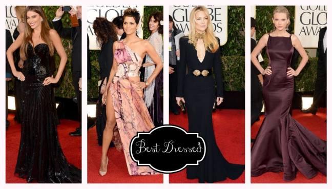 Golden Globes Best Dressed Halle, Kate, Sophia, Taylor