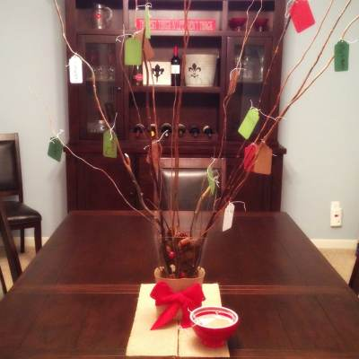 They Do as You DO, Not as You SAY: Create a Gratitude Tree