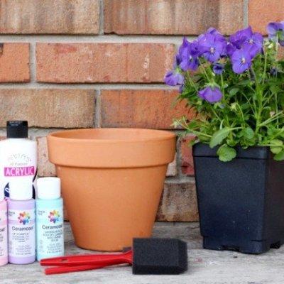 Create A Mother's Day Keepsake Flowerpot