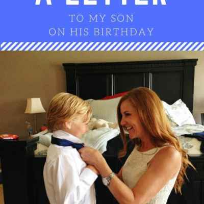 A Letter to My Son on His Birthday: Eight is Enough