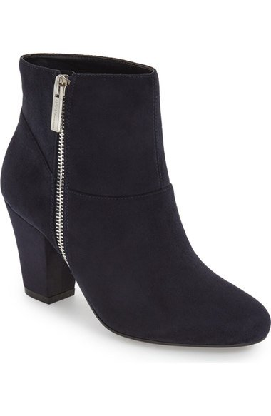 Fall Capsule Wardrobe - The Only 7 Pieces You Need - Devvin Ankle Bootie - Nordstrom