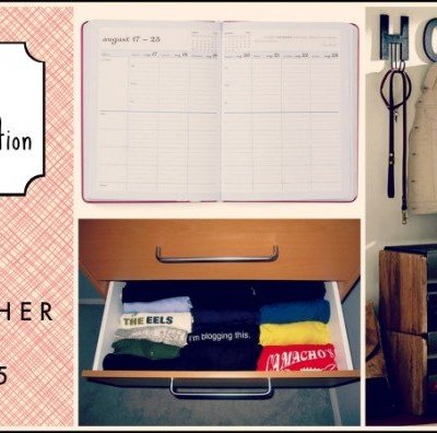 Easy Organization: Three Simple Ways to Get It Together in 2015!