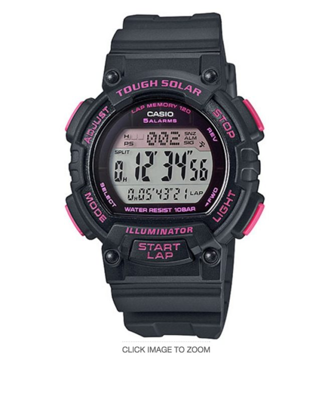 Special Mother's Day Gift Ideas - Casio STLS300H Runners Watch
