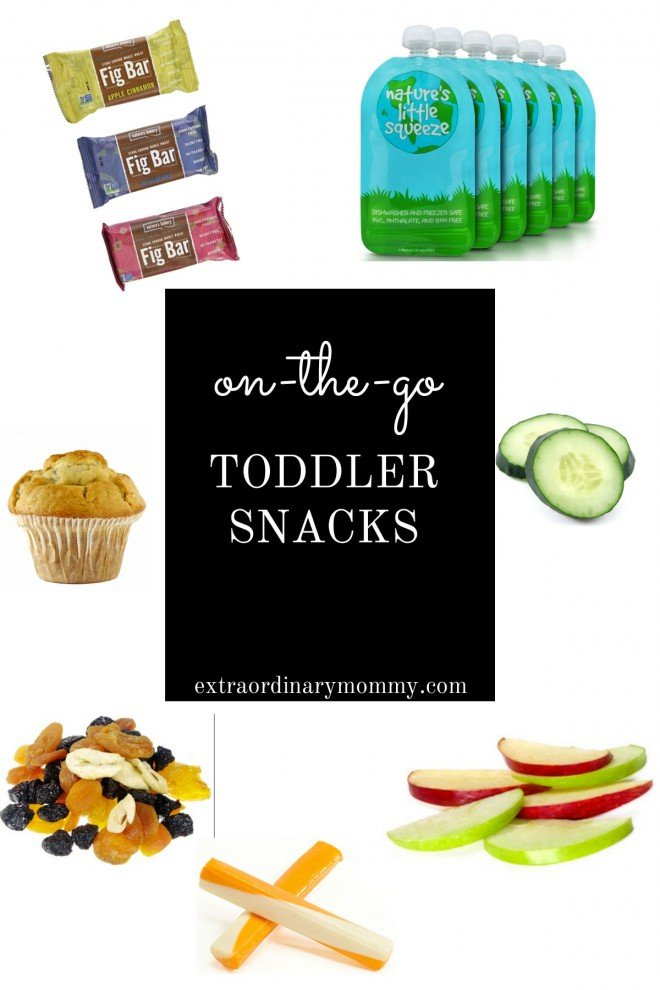 toddler snacks for on the go