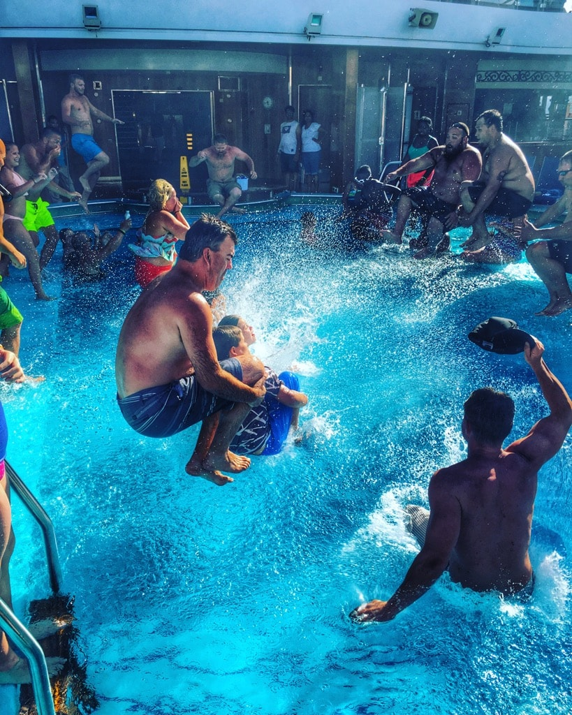 9 Reasons Cruising the Carnival Magic Good for Adults - Carnival Magic Canon Ball Contest