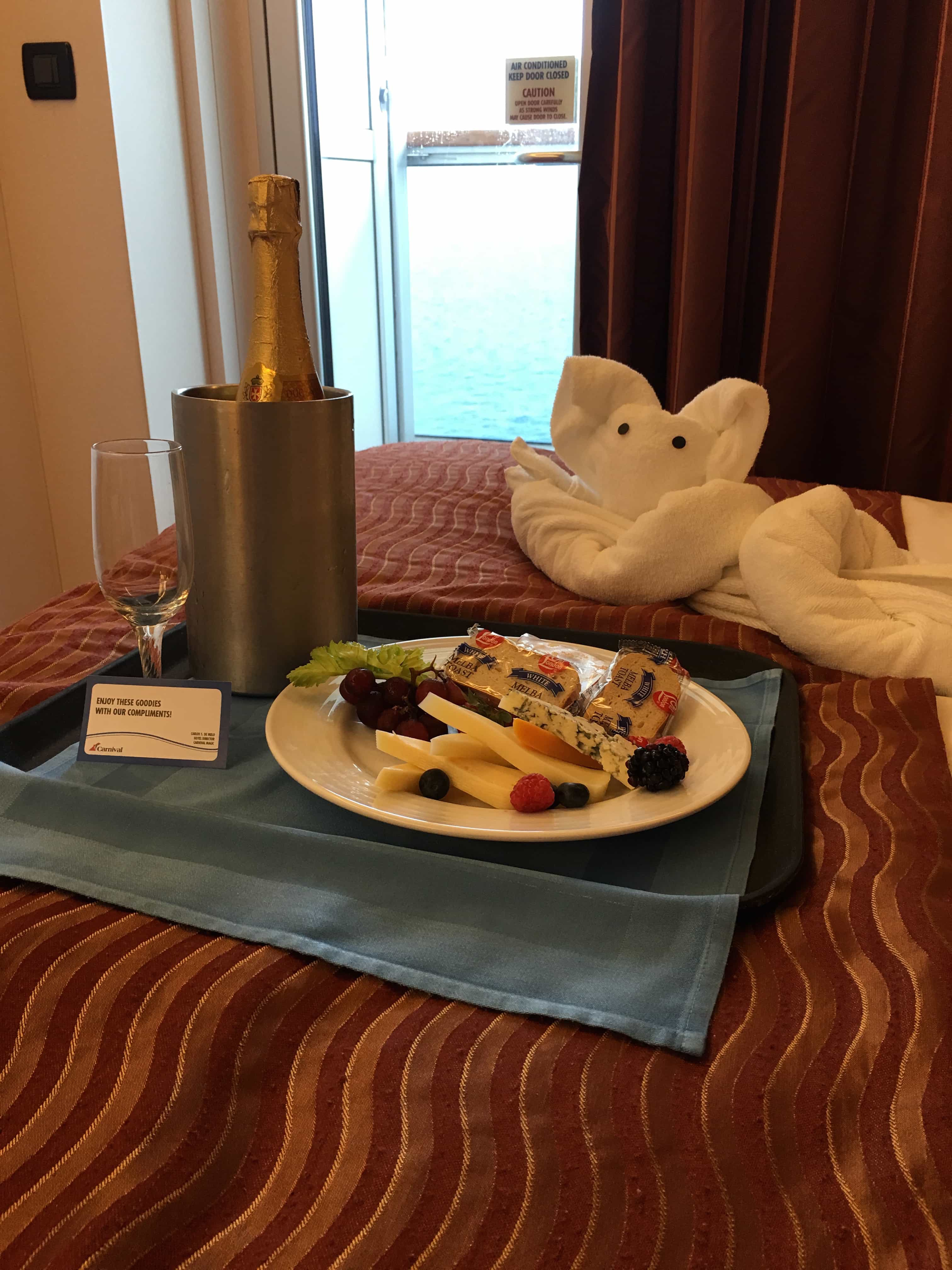 9 Reasons Cruising the Carnival Magic Good for Adults - Champagne