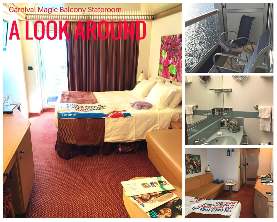 9 Reasons Cruising the Carnival Magic Good for Adults - love the balcony staterooms