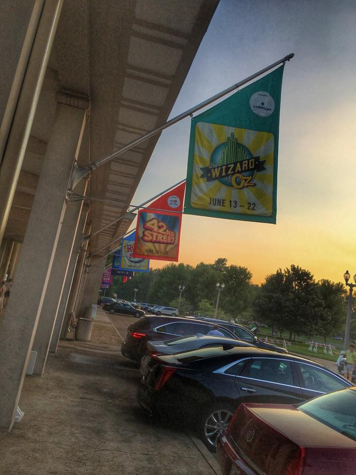 Meet Me at the Muny - Entrance - Flags
