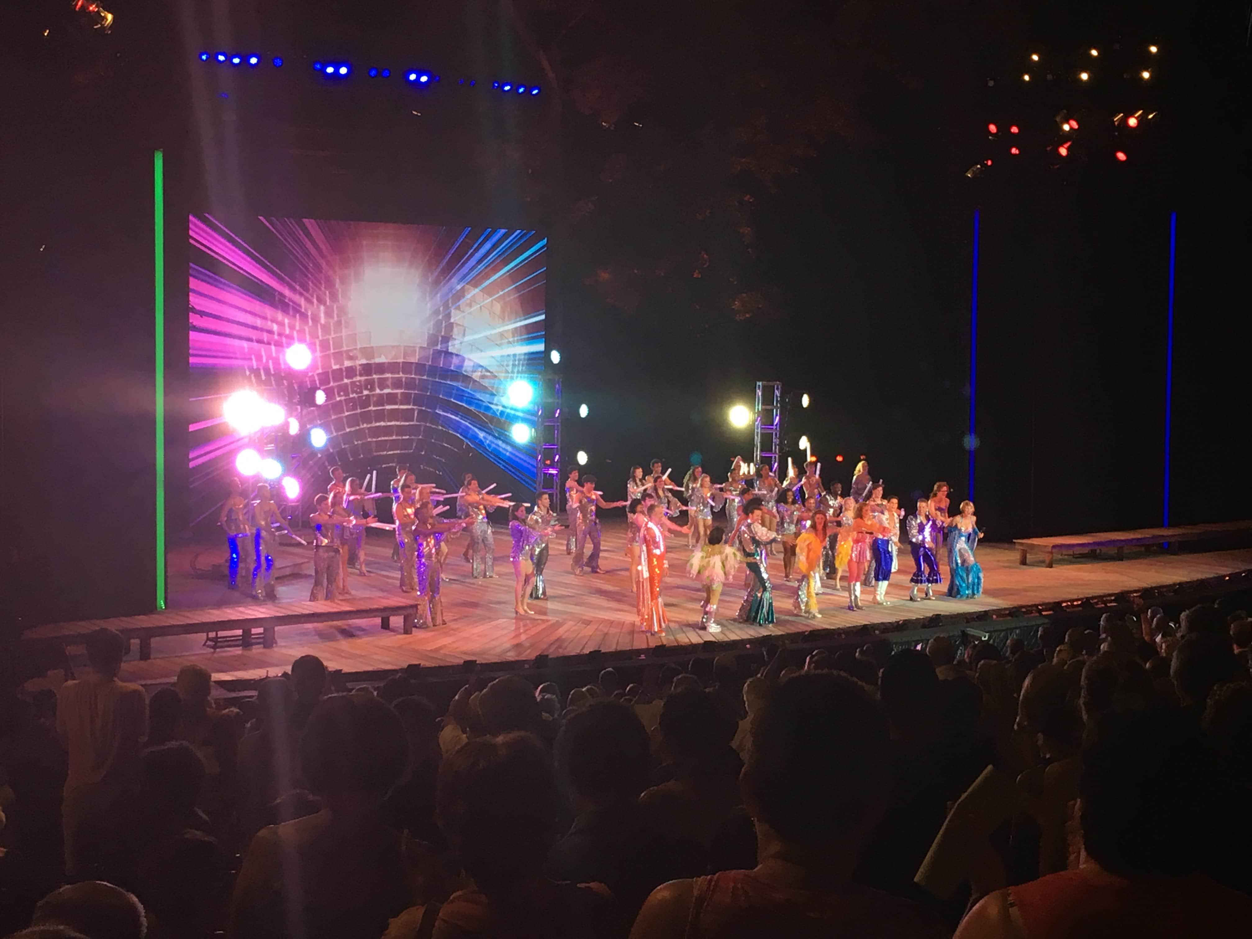 Meet Me at the Muny - Mamma Mia - Singalong - Show Ending