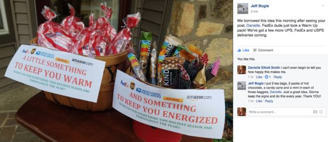 It's the Little Things: Spreading the Love with Thanks: Jeff Bogle