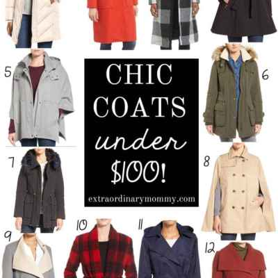 Chic Coats under $100