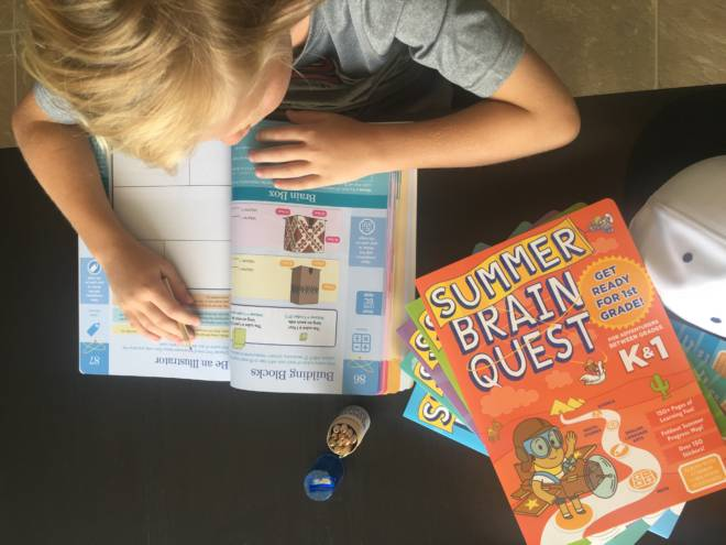 Prevent the Summer Slide: Keep Kids Focused with Summer #BrainQuest