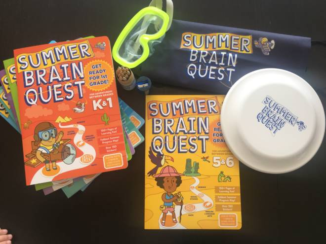Prevent the Summer Slide: Keep Kids Focused with Summer #BrainQuest - Giveaway