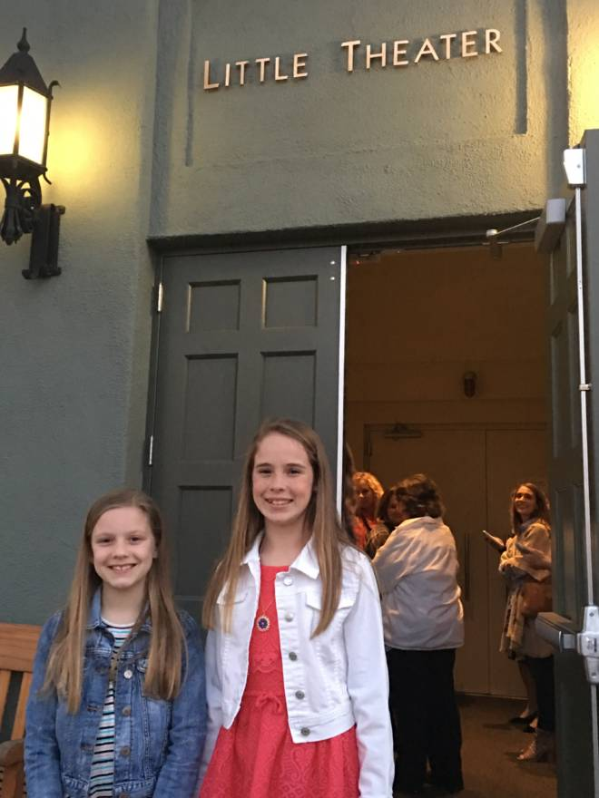 A Los Angeles Experience: #GiftedMovie Premiere - Delaney and Cora at the Little Theater