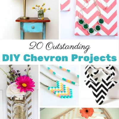20 Outstanding DIY Chevron Projects