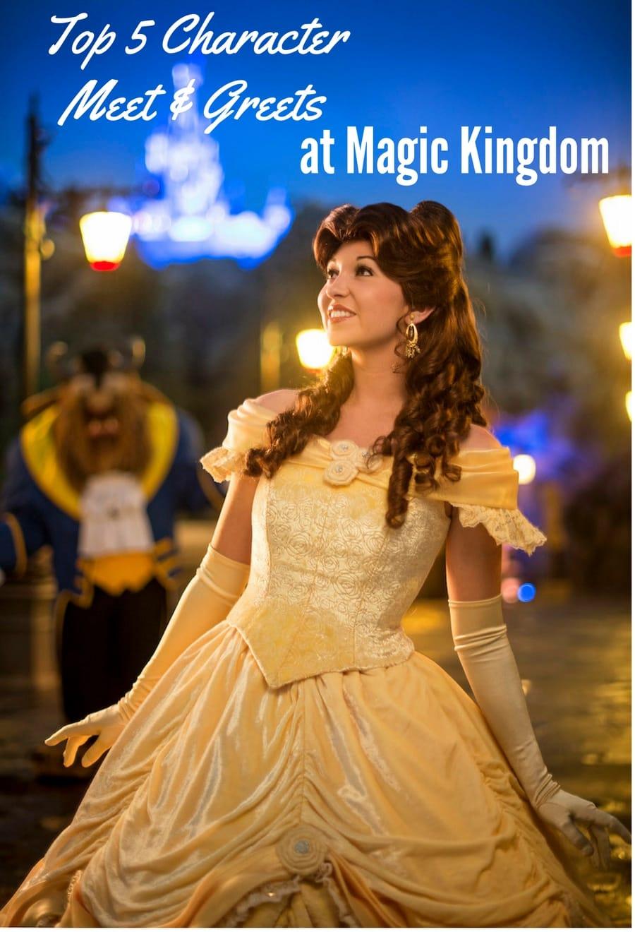Character Meet and Greets At Magic Kingdom
