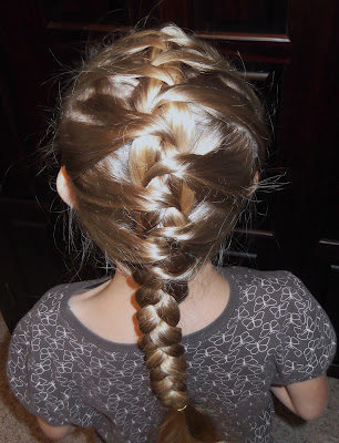 Little Girls Hairstyles How To Do A Hidden French Braid