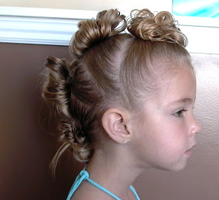 Little Girls Hairstyles The Mohawk And The Tiara Stuffed