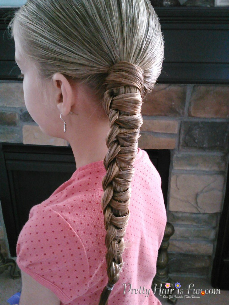 Little Girls Hairstyles How To Do A Chinese Staircase