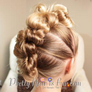 Pretty Hair Is Fun Stuffed Bun Mohawk Pretty Hair Is