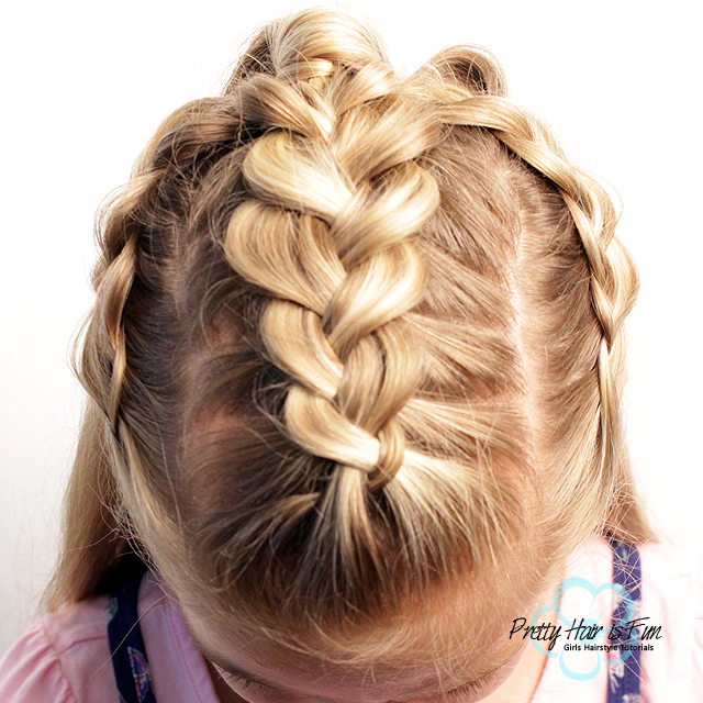 Triple Dutch Braids Half Up Hairstyles Pretty Hair Is