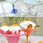 Making a Citrus Striped Cake Stand
