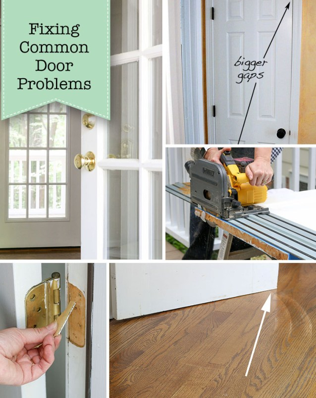 How to Fix common Door Problems