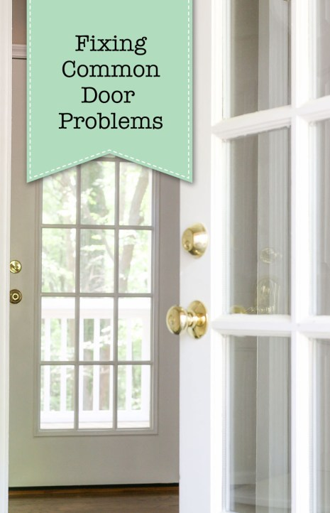 Fixing common door problems pin this image